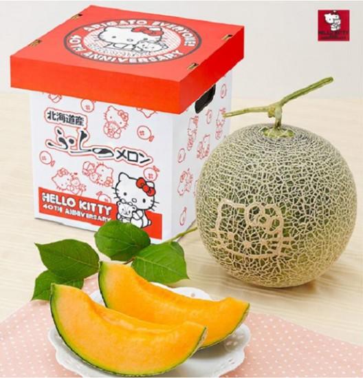 Hello Kitty Melons Celebrates 40th Anniversary