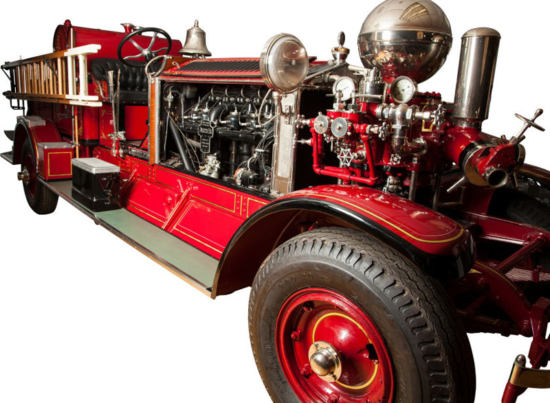 Rare1928 Ahrens-Fox Fire Truck Could Fetch $110,000 at Auction