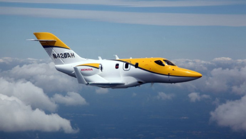 Hondajet to be delivered next year extravaganzi for Honda private jet