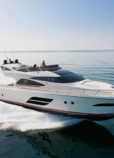The Inaugural Dominator 640 Luxury Yacht at Amber Lounge Charitiy Auction