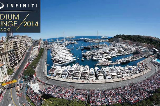 The Ultimate F1 Party Launches at the Monaco GP - Infiniti Podium Lounge