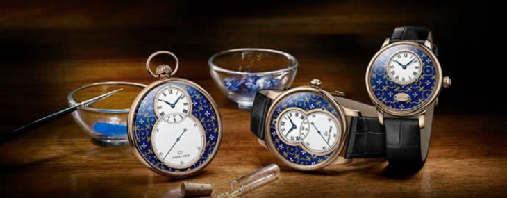 Enamel Art on the Wrist – Jaquet Droz's Pailloné