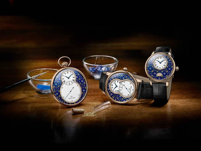 Art meets watchmaking – Jaquet Droz's Pailloné Enameled limited-edition timepieces