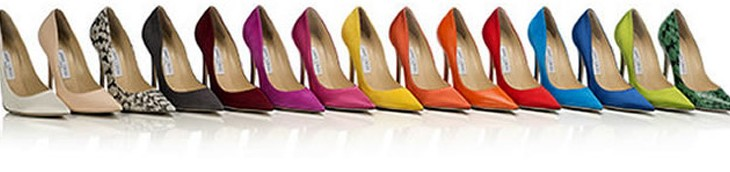 Create Your Dream Pair of Shoes – Jimmy Choo's Made-to-Order Service