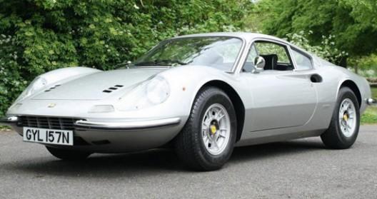 Keith Richards' Ferrari Dino At Auctions