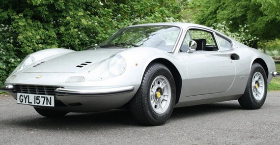 Keith Richards' Ferrari Dino At Auctions