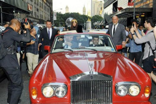 Lady Gaga's Rolls-Royce Corniche On Auction