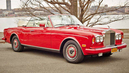 Lady Gaga's Rolls-Royce Corniche On Auction