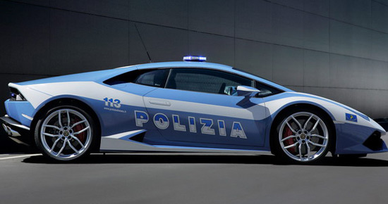 Lamborghini Huracan As Police Car In Italy Extravaganzi