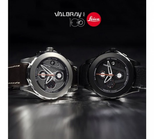 Leica collaborates with watchmaker Valbrayto for a camera inspired Chronograph