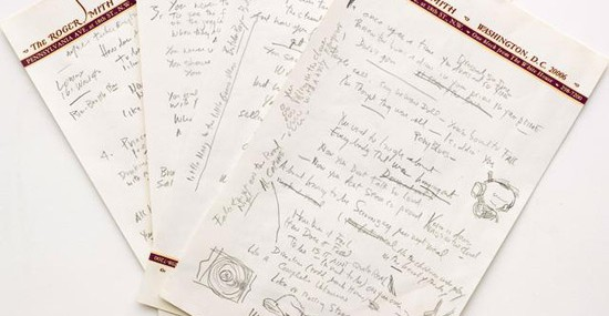 """Like a Rolling Stone"" Manuscript Could Fetch $2Million"