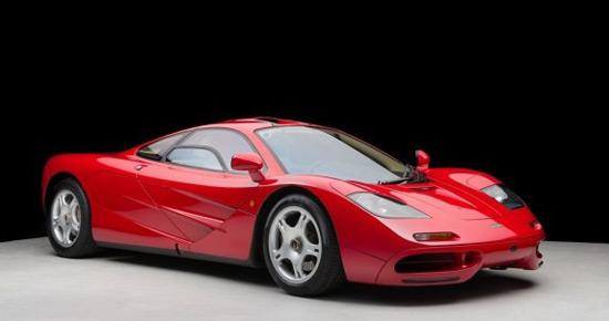 Red McLaren F1 Sold For $10.5 Million
