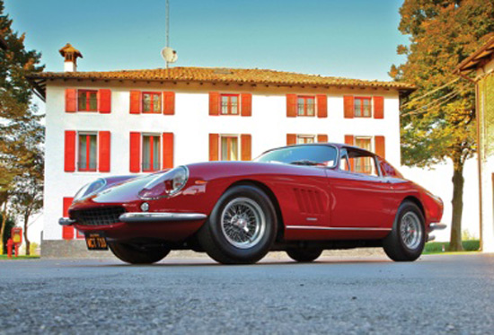MCQUEEN'S 275 GTB/4 TAKES CENTER STAGE AT RM'S FLAGSHIP MONTEREY SALE