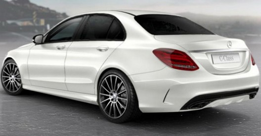 Night Package will only be available for the AMG models of new C-Class with AMG Line equipment