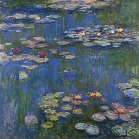 Monet's 'Water Lilies' Auctioned in NY for $27 million