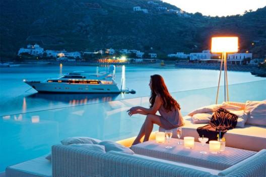 Soak in Your Own Private Infinity Pool at Petasos Beach Resort & Spa in Mykonos