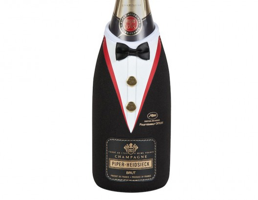 Famed French Champagne House Piper Heidsieck Debuts Limited Edition 'Black Tie' Bottle for Cannes Film Festival