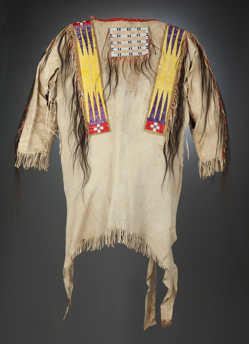 Plains Quilled War Shirt May Bring $40,000 In American Indian And Tribal Art Auction