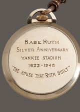 Gold Pocket Watch Owned by Babe Ruth Sold For More Than $650,000 at Auction