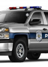 Chevrolet Silverado Truck For Police Forces