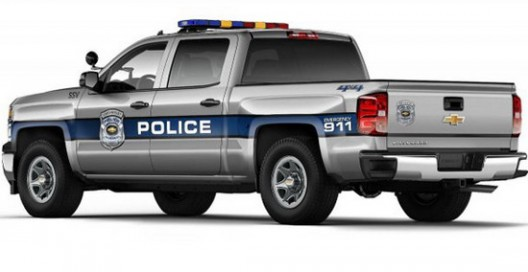 Chevrolet truck will be specifically designed for the needs of the police