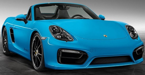 Porsche Exclusive program for individualization is now also available for the Boxster S
