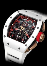 Richard Mille Presents RM 011 Automatic Flyback Chronograph White Demon