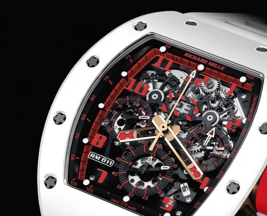 "RICHARD MILLE INTRODUCES THE RM 011 AUTOMATIC FLYBACK CHRONOGRAPH ""WHITE DEMON"""