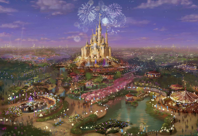 Disney Comes to Shanghai - First Theme Park and Resort in Mainland China
