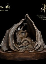 The Hobbit: Smaug the Golden Bronze Statue Available for $4,900
