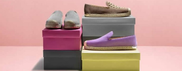 "Stuart Weitzman Launches ""Be Suede"" Espadrille Flat Customization Program"