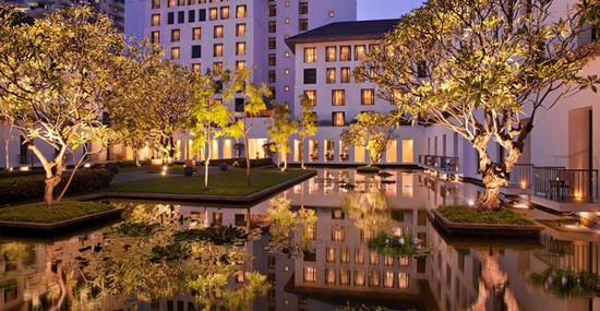 Luxury Sukhothai Hotel In Bangkok