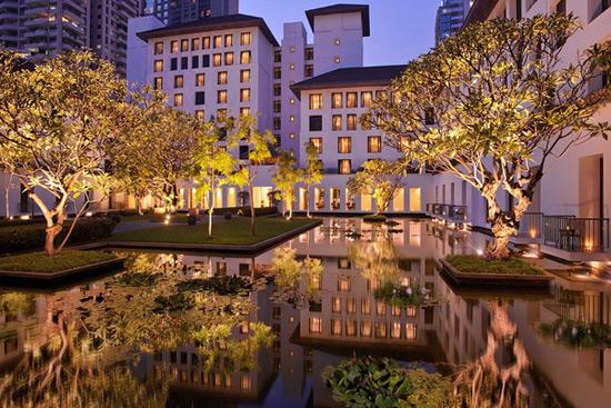 Luxury Sukhothai Hotel In Bangkok