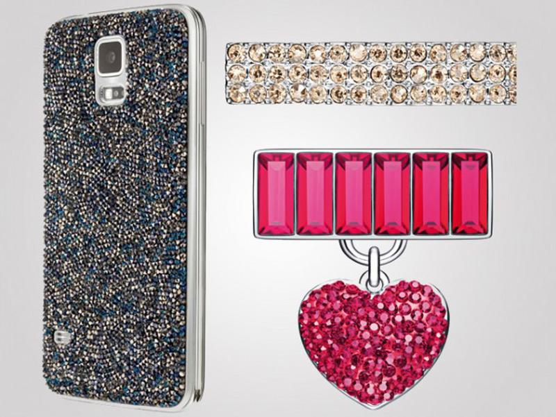 Samsung launches Swarovski encrusted accessories for Galaxy S5 and Gear Fit