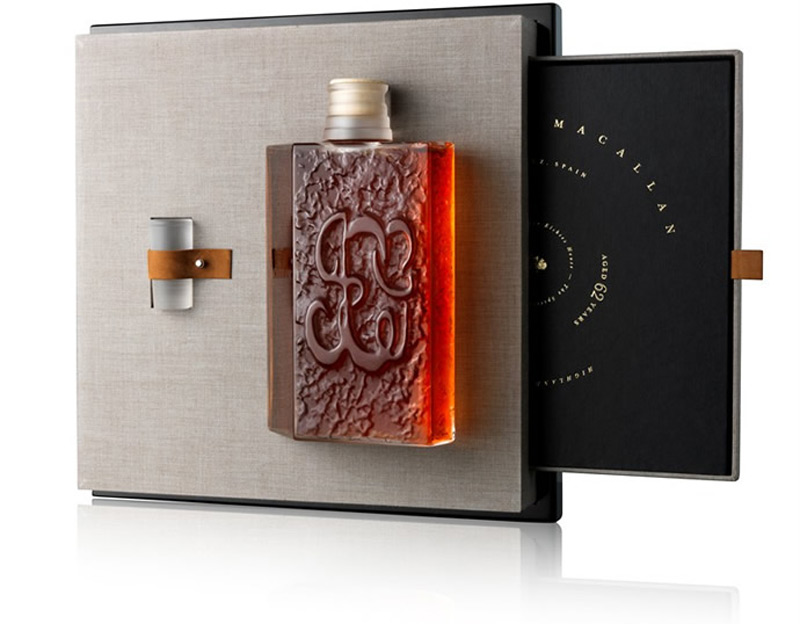 The Macallan and Lalique present the fifth decanter in Six Pillar collection