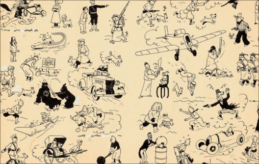 Original Page of Tintin Drawings Sold for a Staggering $2,9 Million