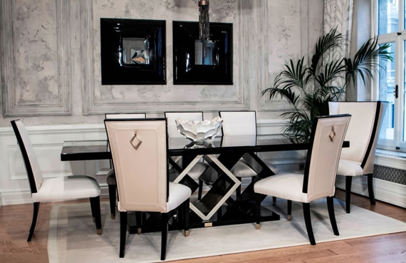 Trump Home by Dorya Furniture Line is made for indulgent elegance