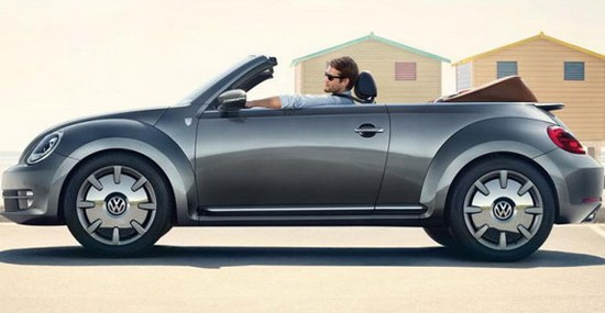 VW Beetle Convertible Karmann Edition