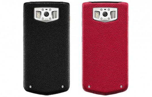 Vertu Constellation Gemstone Edition mobile phones are encrusted with Rubies and Sapphires