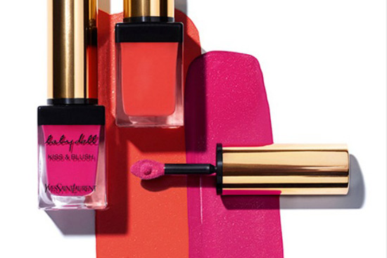 Mix & Match Your Lips & Cheeks - Yves Saint Laurent Baby Doll Kiss & Blush