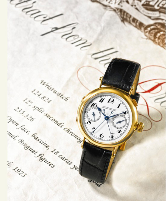 Rare 1923 Patek Philippe Fetched $2.9 Million at Sotheby's