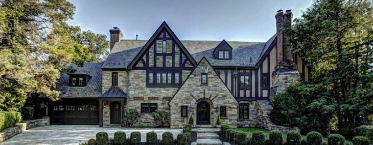 Stunningly Handsome 1929 English Manor on Sale