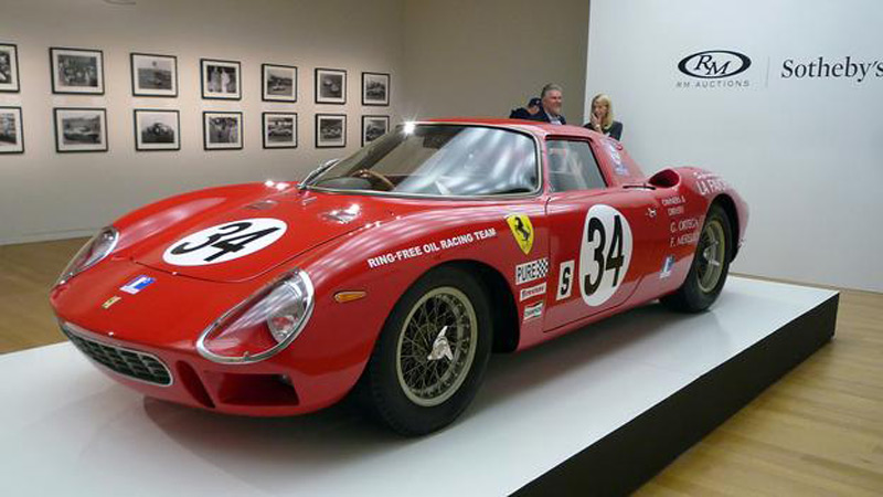 Legendary 1964 Ferrari 250 LM by Scaglietti Highlight at RM Auctions' Monterey Sale