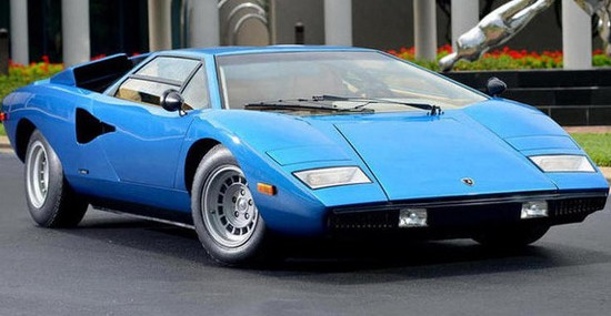$1.21 Million 1975 Lamborghini Countach LP400 Persicopo