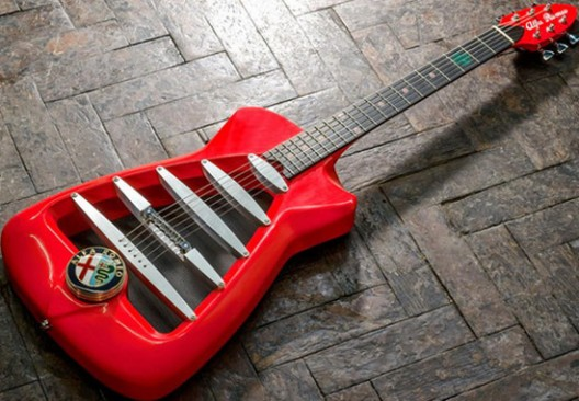 Alfa Romeo Guitar By Harris Custom Guitar Works