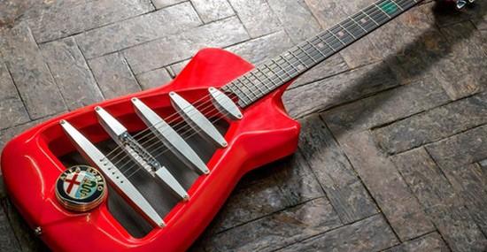 Alfa Romeo Guitar By Harris Custom Guitar Works