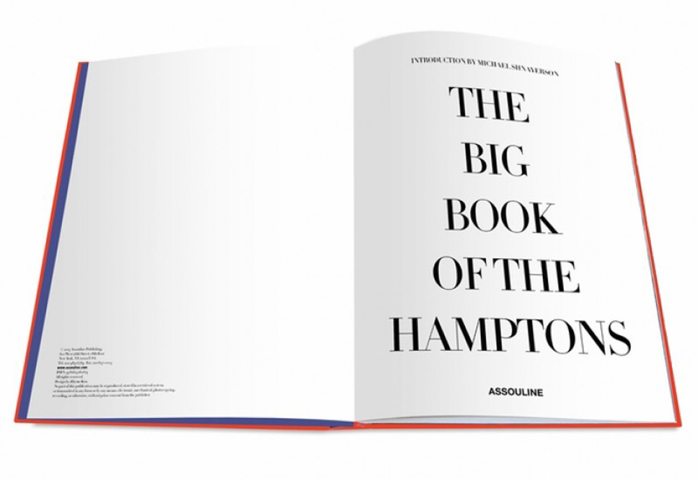"Assouline's ""Big Book of the Hamptons"" by Michael Shnayerson"