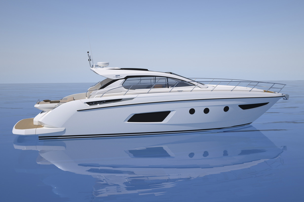 Azimut Yachts - Debut of the new Azimut Atlantis 50 Open version