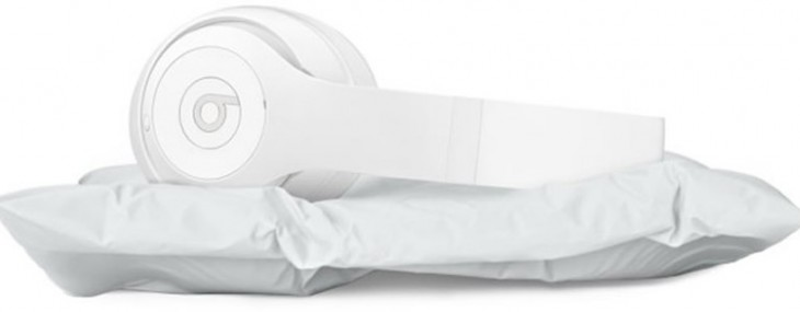 Beats and Snarkitecture collaborate to create limited edition ultra-minimal headphones and pillow
