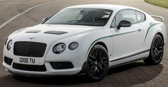 mysterious Bentley Continental